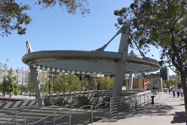 Subway Station Entrance Canopy